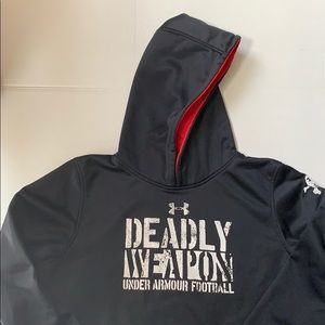 Under Armour Deadly weapon hoodie youth XL